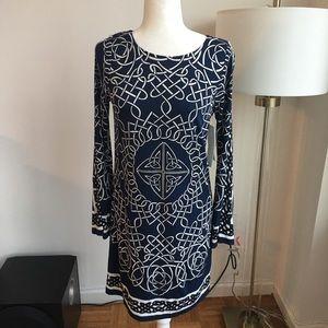 Nicole miller NWT S studio jersey sleeve dress